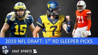 6 Sleeper Round 1 Picks In The 2019 NFL Draft