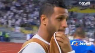 لاعبو الزمالك يدخلون في نوبة بكاء بعد نهاية مباراة صن داونز نهائي دوري ابطال افريقيا