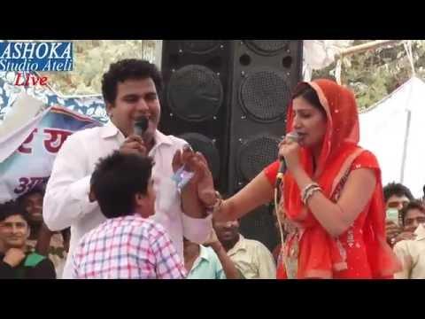 सपना चौधरी की सुपर हिट रागनी II In Bagadiya Ke Dere Main II Singer Sapna Chaudhary & Jahrila