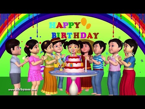 Xxx Mp4 Happy Birthday Song 3D Animation English Nursery Rhymes Songs For Children 3gp Sex