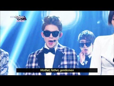 GENTLEMAN - Teen Top & Girl's Day (2013.05.11) [Music Bank w Eng Lyrics]