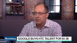 Why Google Is Buying HTC Talent for $1.1 Billion