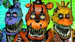 Five Nights at Freddy's Song (FNAF 4 SFM 4K)(Ocular Remix)