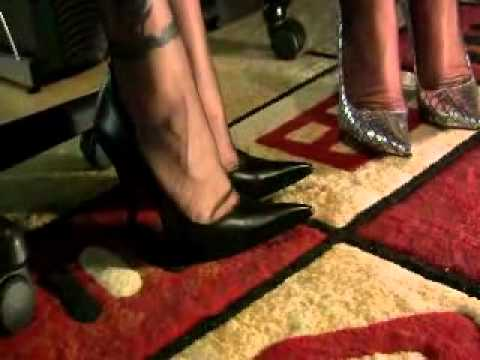 Ladies Talk in FFnylons and Swap a Shoe