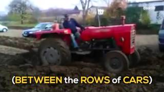Farmer Gets Sweet, Sweet Parking Lot Revenge