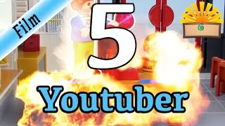 5 ARTEN von YOUTUBERN! Playmobil Film deutsch | Vlogger, Gaming, Kinderkanal, Experimente