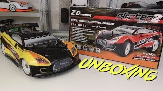 Unboxing: ZD Racing Pirates2 TC8 | Low Budget GT | HD+ | German