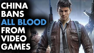 China bans ALL BLOOD in video games