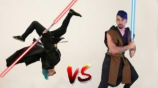 Jedi VS Sith In Real Life (Star Wars, Parkour, Lightsaber)