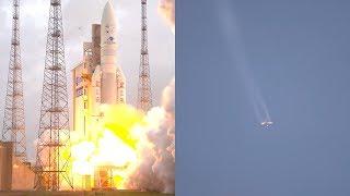 Ariane 5 ECA launches GSAT-11 and GEO-KOMPSAT-2A satellites
