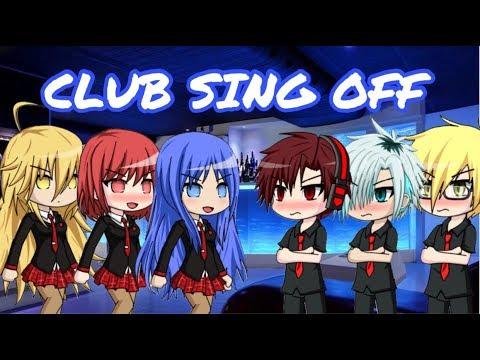 Boys vs Girls singing battle Gacha Studio 