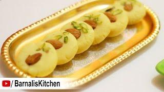 Milk Peda or Kesar Peda -Quick and Easy Malai Peda Recipe -Indian Dessert Recipe - Navratri  Recipes