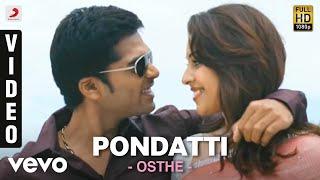 Osthe - Pondatti Tamil Video | STR, Thaman