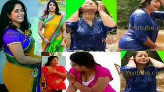 ഒരു കുളിസീനിലും ഇത്ര അതികം കാണിച്ചിട്ടുണ്ടാകില്ല, malayalam TV anchor Lakshmi Nair showing huge back