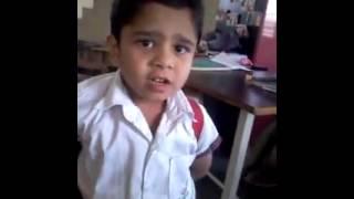 Funny Marathi School Boy