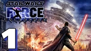 Let's Play Star Wars: Force Unleashed (HD Walkthrough) Part 1 - Force Push!