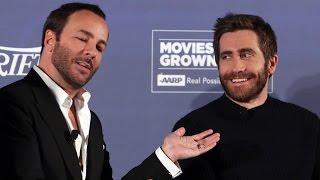 Jake Gyllenhaal & Amy Adams on Tom Ford