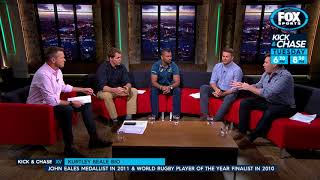 Rugby Kick and Chase - Fox Lab: Beale and Foley