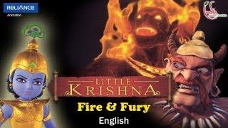 Little Krishna English - Episode 5 Fire & Fury