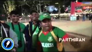 Crazy Bangladeshi Cricket Fans