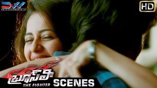 Rakul Preet Hugs Ram Charan | Bruce Lee The Fighter Movie Scenes | Kriti Kharbanda | Ali