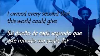 OneRepublic I Lived / subt. ingles - español