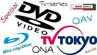 OVA, ONA, OAD, OAV, Special Nedir?