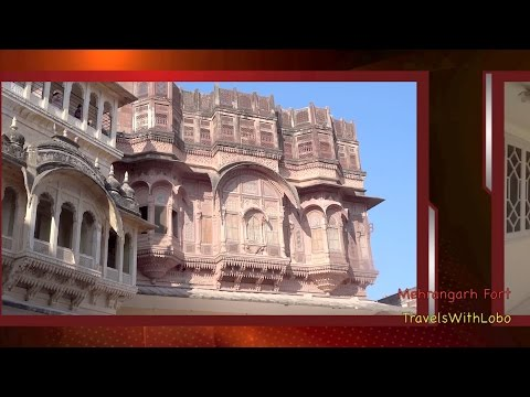 Biggest in Rajasthan -  MEHRANGARH FORT - JODHPUR