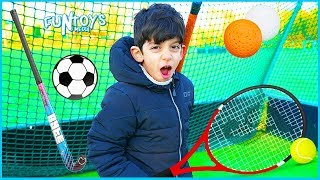 Exercise & Learn Outdoor Sports for Children with Jason