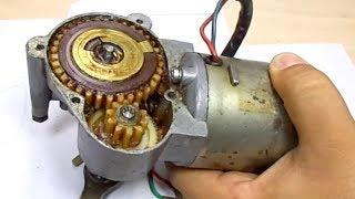 Gear Fix - Wiper Motor Repair -- Silecek Motoru Dişli Tamiri