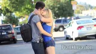 Kissing Prank  Staring Contest