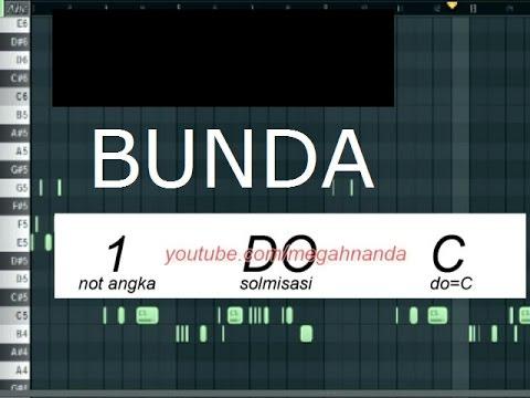 Download Solmisasi | Not Angka Lagu Bunda free