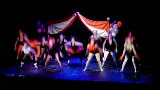 "Zeta Tau Alpha ""The Circus"" MIZZOU Prelims RAMS 2009"