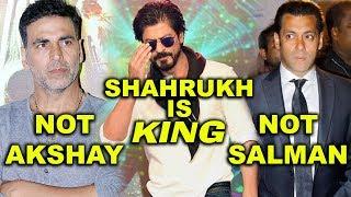 न Salman Khan न Aksahy Kumar Shahrukh Khan ही है Bollwood के King