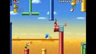 New Super Mario Bros. Wii - World 9-4 (All Star Coins)