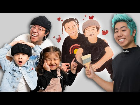 I Painted My Little Brother's CRUSH All Over His Bedroom ft. ZHC Nick&Sienna