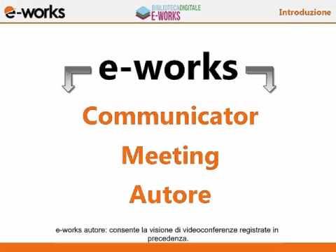 BD – e-Works – Presentazione