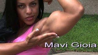 Mavi Gioia charming italian girl with stunning biceps part1