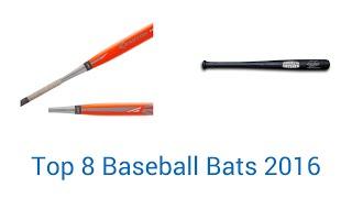8 Best Baseball Bats 2016