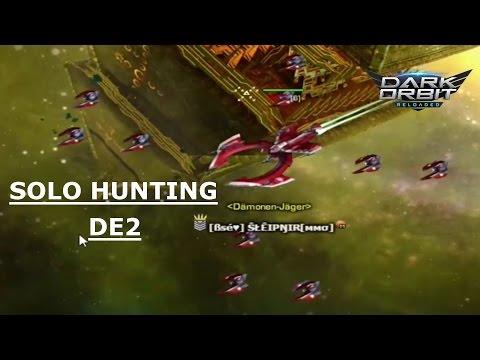 Darkorbit - Solo Hunting on DE2