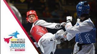 [Juniors Women –46kg FINAL] 2018 WORLD TAEKWONDO JUNIOR CHAMPIONSHIPS