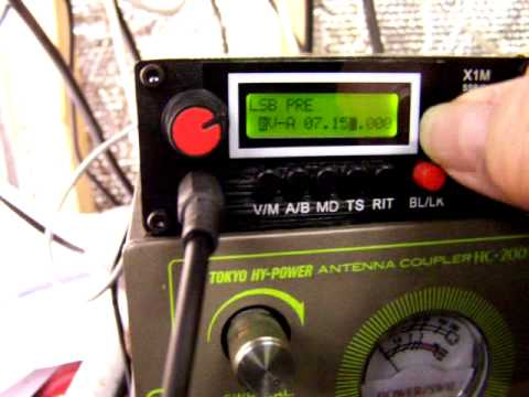 X1M 1-30 MHz SSB/CW QRP Transceiver from China
