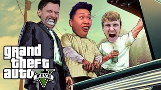 GTA 5 FUNNY MOMENTS!! (TROLLING TEAM ALBOE)