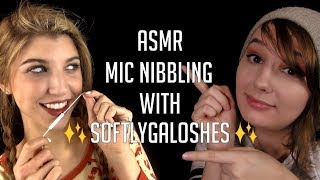 ASMR Mic Nibbling with Softly Galoshes
