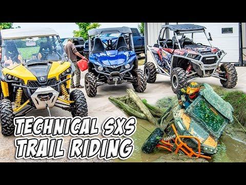 Xxx Mp4 Technical SXS UTV ATV Moto Trail Riding We Didn T Buy These Machines To Go Around TeamAJP 3gp Sex