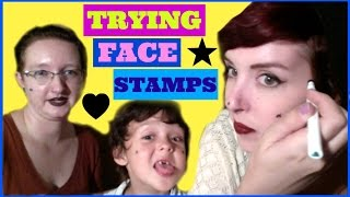 TRYING FACE STAMPS (feat MO & SORA)