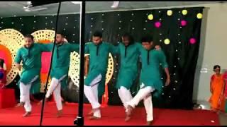Medha's Haldi Night - Dhakar Pola Dance performed By RiD  ,Polock ,Rocky ,Asif & Turjoy