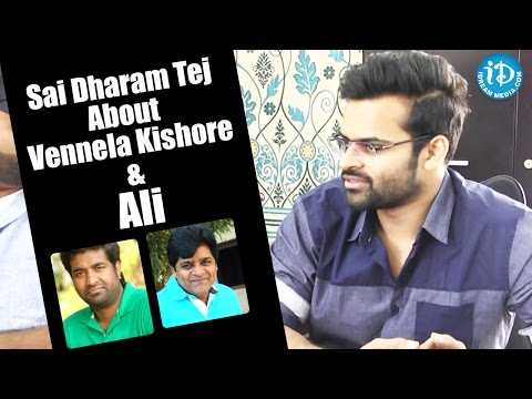 Sai Dharam Tej About Vennela Kishore And Ali || #Winner || Special Interview