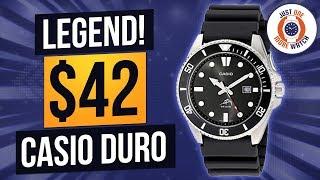 Budget Dive Classic! $42 Casio MDV-106 A.K.A. The Duro.