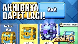 SMC GRATIS!! LANGSUNG GAS PUSH TROPHY! • Clash Royale Indonesia